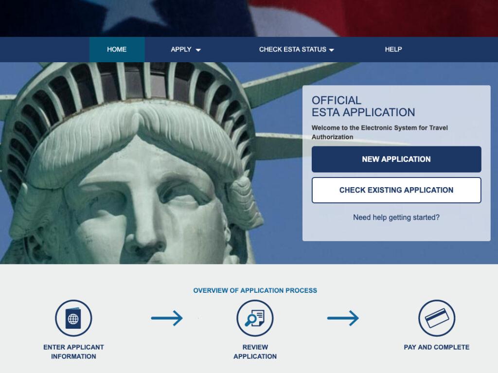 ESTA - autoryzacja podróży do USA