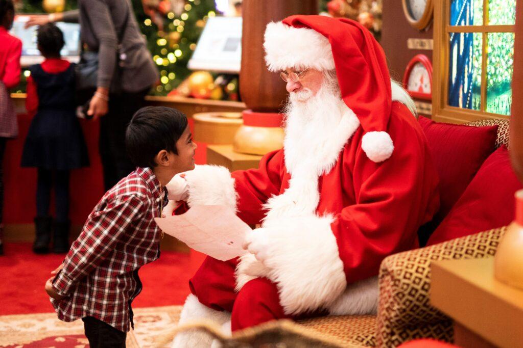Święty Mikołaj w USA