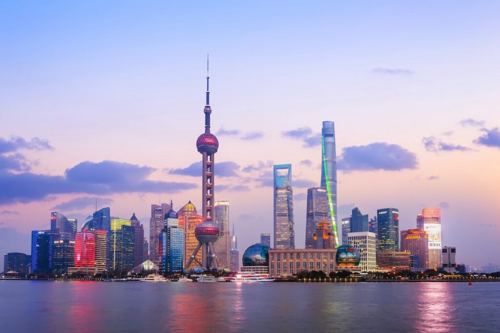 Wiza chińska - Shanghai i inne miasta