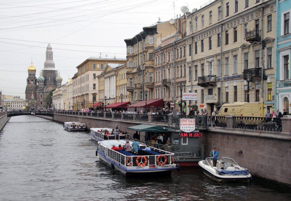 Wiza elektroniczna do Petersburga