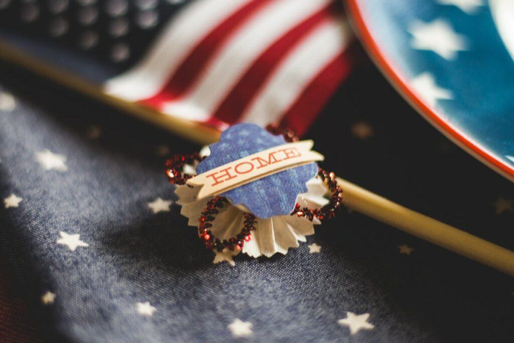 4 lipca w USA - barwy narodowe
