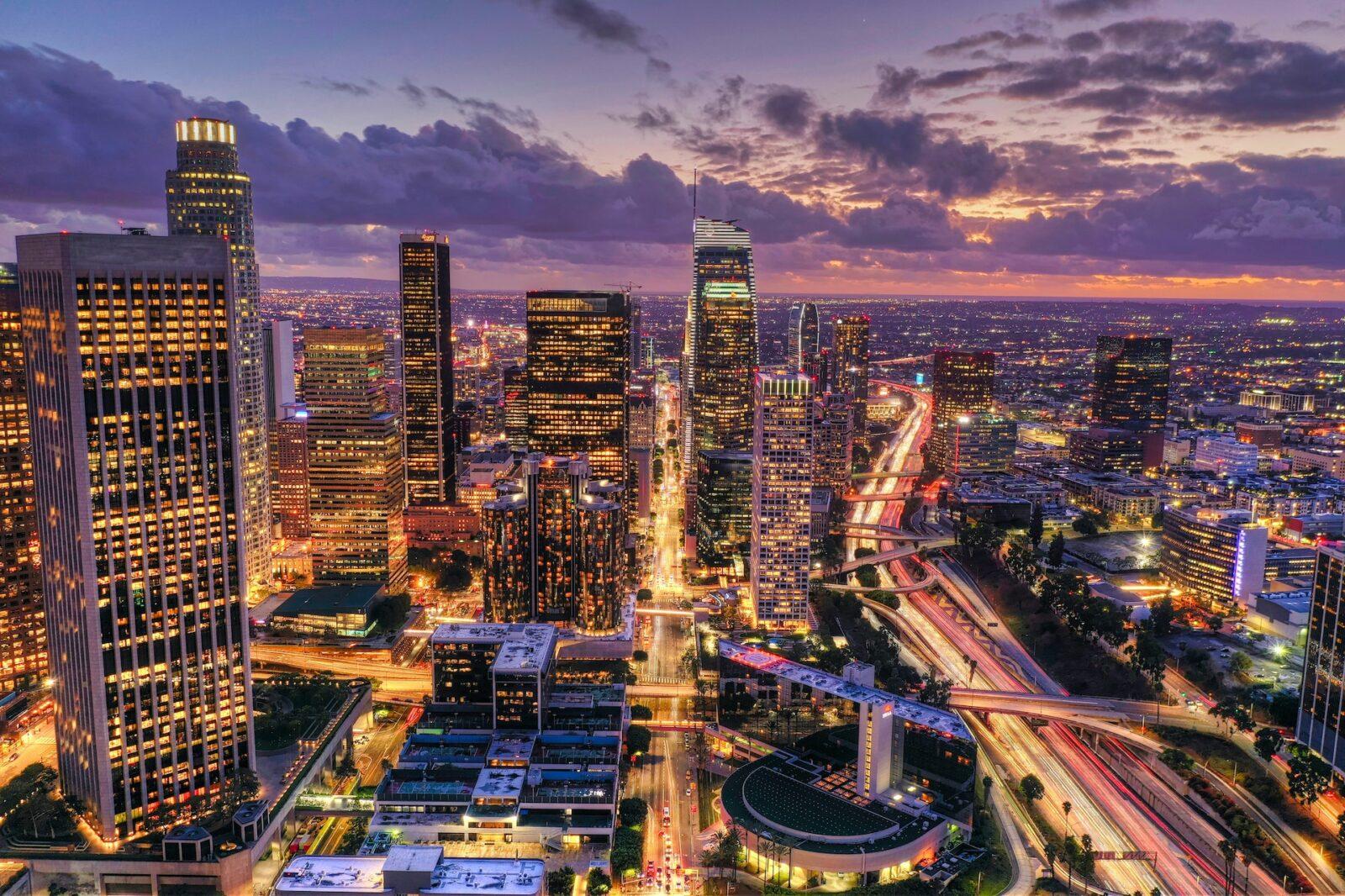 10 najpopularniejszych miast w USA