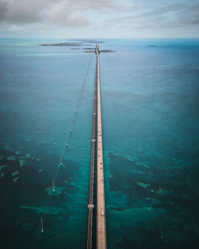 Seven Mile Bridge - Miami na Florydzie
