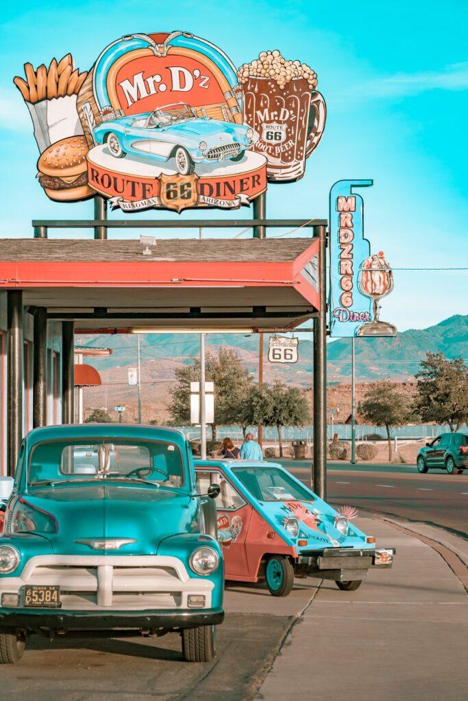 Mr. D'z Route 66 Diner przy Route 66