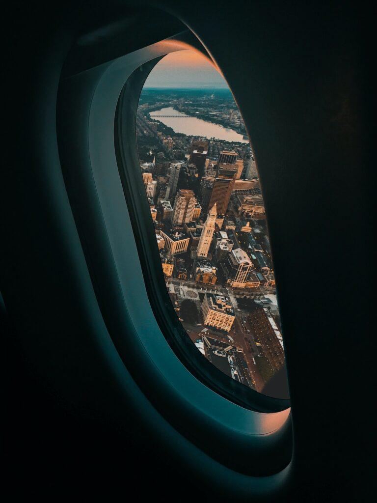 Pierwszy lot samolotem - zachowanie na pokładzie